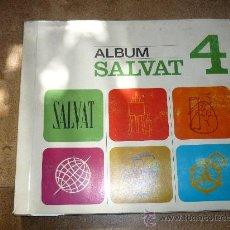 Coleccionismo Álbum: ALBUM DE CROMOS SALVAT 4 COMPLETO COMPLETO . Lote 31162485