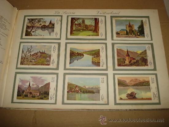 Coleccionismo Álbum: Antiguo Album de Cromos EUROPA EN IMAGENES 1ª Serie de Chocolates VICTORIA Bruxelas . Año 1950s. - Foto 2 - 31193238