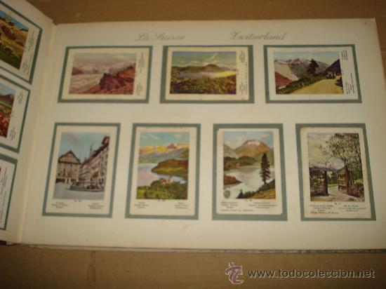 Coleccionismo Álbum: Antiguo Album de Cromos EUROPA EN IMAGENES 1ª Serie de Chocolates VICTORIA Bruxelas . Año 1950s. - Foto 3 - 31193238