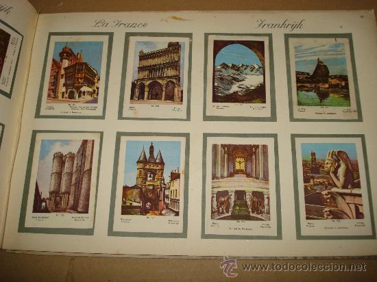 Coleccionismo Álbum: Antiguo Album de Cromos EUROPA EN IMAGENES 1ª Serie de Chocolates VICTORIA Bruxelas . Año 1950s. - Foto 4 - 31193238