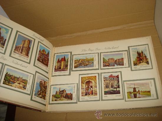 Coleccionismo Álbum: Antiguo Album de Cromos EUROPA EN IMAGENES 1ª Serie de Chocolates VICTORIA Bruxelas . Año 1950s. - Foto 5 - 31193238