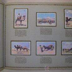 Coleccionismo Álbum: ALBUM RIQUEZAS DE ASIA COMPLETO CON 200 CROMOS DEL AÑO 1933. PRECIOSO Y MUY RARO. . Lote 31544691