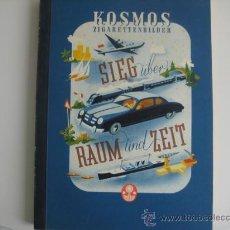 Coleccionismo Álbum: ALBUM KOSMOS SIEG UBER RAUM UND ZEIT HISTORIA MEDIOS DE LOCOMOCIÓN AÑOS 50 COMPLETO CROMOS. Lote 31346002