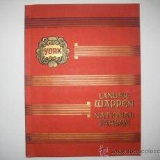 Coleccionismo Álbum: ALBUM LANDER-WAPPEN UND NATIONAL-FARBEN 1933 306 CROMOS ESCUDOS DE EUROPA COMPLETO IMPECABLE GARBATY. Lote 177084140