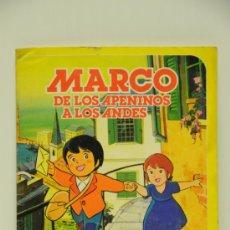 Coleccionismo Álbum: ALBUM COMPLETO, MARCO DE LOS APENINOS A LOS ANDES, DANONE, AÑO 1976. Lote 31572707