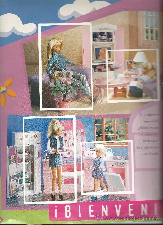 Coleccionismo Álbum: 3750-ALBUM COMPLETO BARBIE FANTASY - Foto 2 - 31578385