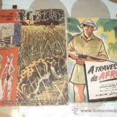 Coleccionismo Álbum: ALBUM CHOCOLATES BATANGA,A TRAVES DE AFRICA 1 Y 2. Lote 31721343