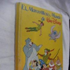 Coleccionismo Álbum: ANTIGUO ALBUM COMPLETO EL MARAVILLOSO MUNDO DE WALT DISNEY. Lote 31813863