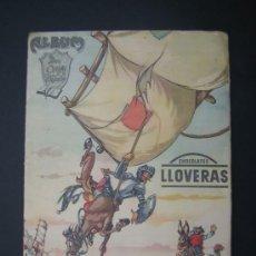 Coleccionismo Álbum: DON QUIJOTE DE LA MANCHA ALBUM COMPLETO CHOCOLATES LLOVERAS. Lote 31859869
