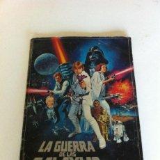 Coleccionismo Álbum: GUERRA DE LAS GALAXIAS ALBUM CROMOS STAR WARS ESPAÑA COMPLETO. Lote 31882556