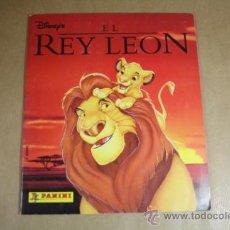 Coleccionismo Álbum: ALBUM DE CROMOS EL REY LEON - DISNEY - PANINI - COMPLETO 232 CROMOS. Lote 31887640