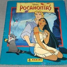 Coleccionismo Álbum: POCAHONTAS COMPLETO. WALT DISNEY. PANINI 1995. GRAN PRECIO.. Lote 31926686