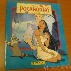 Coleccionismo Álbum: ALBUM POCAHONTAS DE PANINI 1996, NUEVO Y COMPLETO. Lote 31996132
