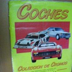 Coleccionismo Álbum: ALBUM COMPLETO DE COCHES,DE EDICIONES UNIDAS 1986. Lote 31996470