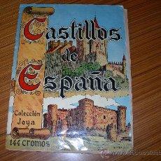 Coleccionismo Álbum: CASTILLOS DE ESPAÑA COMPLETO 144 CROMOS EDITA CASULLERAS. Lote 32067523