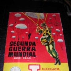 Coleccionismo Álbum: ALBUM SEGUNDA GUERRA MUNDIAL 1939-1945 CHOCOLATES TORRAS COMPLETO . Lote 32117257
