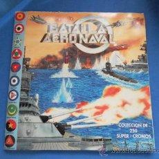 Coleccionismo Álbum: BATALLA AERONAVAL. EDICIONES MILANO. ÁLBUM DE CROMOS COMPLETO. Lote 32168029