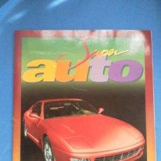 Coleccionismo Álbum: SUPER AUTO. EDICIONES PANINI. ÁLBUM DE CROMOS COMPLETO.. Lote 45475516