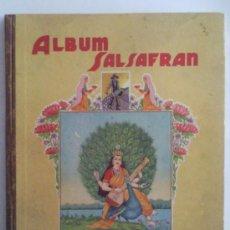 Coleccionismo Álbum: ALBUM SALSAFRAN,EDITADO POR VDA DE A.GOMEZ TEJEDOR, NOVELDA, ALICANTE. Lote 32206796