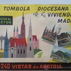 Coleccionismo Álbum: ALBUM, TOMBOLA DIOCESANA DE LA VIVIENDA, AUSTRIA, AÑO 1964, COMPLETO. Lote 32206830