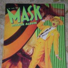 Coleccionismo Álbum: ALBUM DE CROMOS THE MASK LA MASCARA STICKER - COMPLETO DE MERLIN 1994 CROMO. Lote 42761308