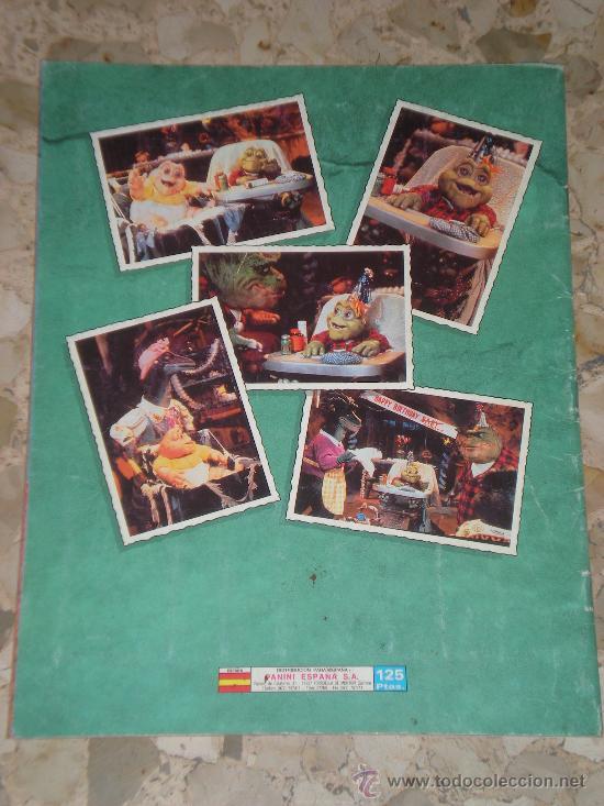 Coleccionismo Álbum: ALBUM DE CROMOS DINOSAURS DE PANINI COMPLETO - 1991 CROMO - Foto 2 - 32268130