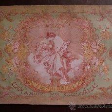Coleccionismo Álbum: ALBUM BIOGRAFICO DE LAS CAJAS DE CERILLAS. SERIE 25. COMPLETO. Lote 32546262