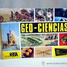 Coleccionismo Álbum: ALBUM, GEO CIENCIAS, ED. KEISA. Lote 32695032