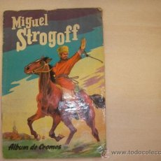 Coleccionismo Álbum: MIGUEL STROGOFF DE FERMA. COMPLETO. MUY RARO. Lote 43700687
