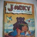 Coleccionismo Álbum: ALBUM COMPLETO DE JACKY - EL OSO DE TALLAC . Lote 32968131