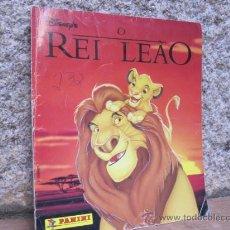 Coleccionismo Álbum: ALBUN DE CROMOS. REY LEON - REI LELAO - EDICION DE PANINI EN PORTUGUES - COMPLETO 32 PÁGINAS 27CM +. Lote 33220158