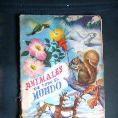Coleccionismo Álbum: ALBUM COMPLETO ANIMALES DE TODO EL MUNDO FHER, AÑOS 50. Lote 33322248