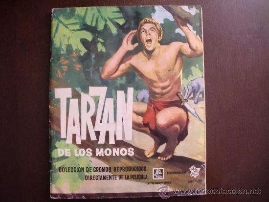 TARZAN DE LOS MONOS. COMPLETO (Coleccionismo - Cromos y Álbumes - Álbumes Completos)