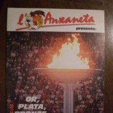 Coleccionismo Álbum: L'ANXENETA PRESENTA OR, PLATA BRONZE. Lote 33489741