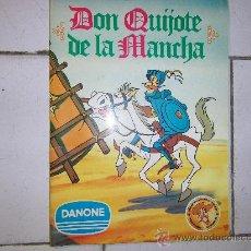 Coleccionismo Álbum: ALBUN DON QUIJOTE DE LA MANCHA-DANONE-COMPLETO. Lote 33722829