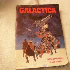 Coleccionismo Álbum: GALACTICA, ALBUM COMPLETO DE CROMOS, EDITORIAL MAGA. Lote 33777523