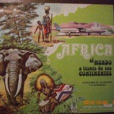 Coleccionismo Álbum: AFRICA EL MUNDO A TRAVES DE SUS CONTINENTES LECHE RAM. Lote 33785801