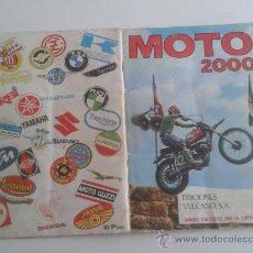 Coleccionismo Álbum: MOTO 2000 (ALBUM COMPLETO). Lote 33962258