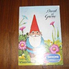 Coleccionismo Álbum: ALBUM CROMOS - DAVID EL GNOMO - DANONE - COMPLETO - 1985. Lote 33976573