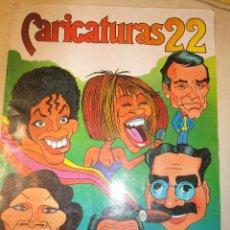 Coleccionismo Álbum: ALBUM CARICATURAS 22 COMPLETO CROMOS ROS 1987 HUMORISTAS ARTISTAS POLITICOS CANCION. Lote 33980685