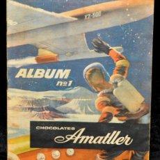 Coleccionismo Álbum: AMATLLER ÁLBUM Nº 1 - CHOCOLATES AMATLLER - AÑOS 50 - ÁLBUM COMPLETO DE 190 CROMOS.. Lote 34151141
