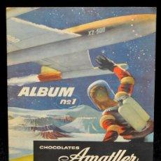 Coleccionismo Álbum: AMATLLER ÁLBUM Nº 1 - CHOCOLATES AMATLLER - AÑOS 50 - ÁLBUM COMPLETO DE 190 CROMOS.. Lote 34151158