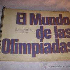 Coleccionismo Álbum: EL MUNDO DE LAS OLIMPIADAS,ALBUM COMPLETO DE CROMOS, DE LABORATORIOS VITA. Lote 34405978