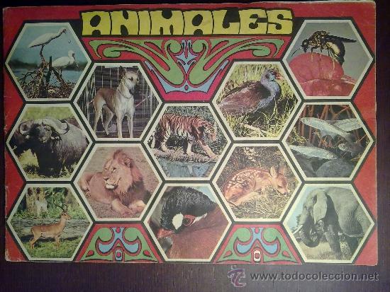 ANIMALES. COMPLETO (Coleccionismo - Cromos y Álbumes - Álbumes Completos)