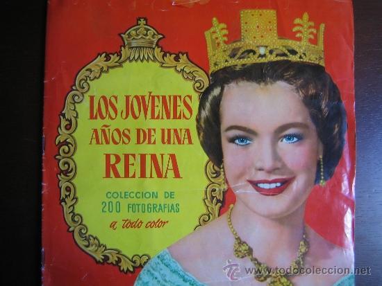 LOS JOVENES AÑOS DE UN REINA. COMPLETO (Coleccionismo - Cromos y Álbumes - Álbumes Completos)
