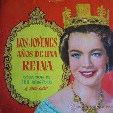 Coleccionismo Álbum: LOS JOVENES AÑOS DE UN REINA. COMPLETO. Lote 34609174