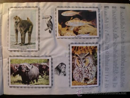 Coleccionismo Álbum: ANIMALES. COMPLETO - Foto 3 - 34608802