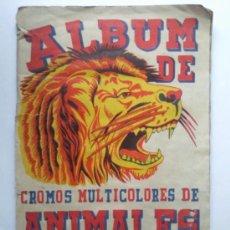 Coleccionismo Álbum: ALBUM DE ANIMALES Y PLANTAS MARINAS, EDITORIAL FHER, COMPLETO. Lote 34740029
