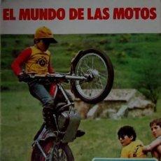 Coleccionismo Álbum: ALBUM EL MUNDO DE LAS MOTOS BIMBO MUY BUEN ESTADO. Lote 49960724