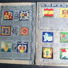 Coleccionismo Álbum: ALBUM BANDERAS Y ESCUDOS DE TODO EL MUNDO. Lote 34885946